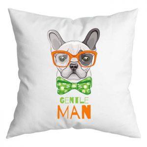 Gentle Man bulldog párna