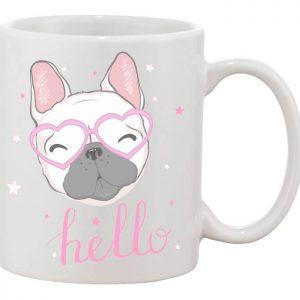 Hello bulldog bögre