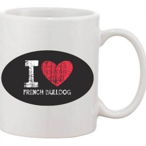 I love francia bulldog bögre
