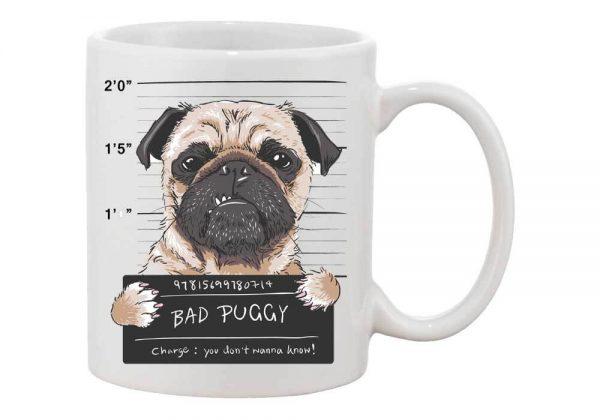 rossz kutya mopsz bögre